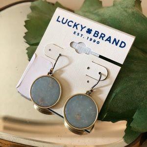 🆕Lucky🍀Brand JASPER Circle Dangle Earrings